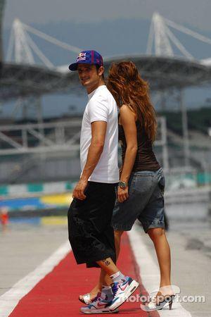 Vitantonio Liuzzi, Scuderia Toro Rosso ve Gilfriend