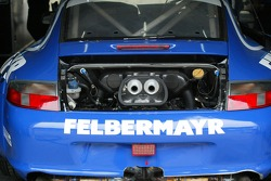 Detail of the #69 Team Felbermayr-Proton Porsche 996 GT3 RSR