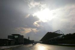 Piste humide à Sepang