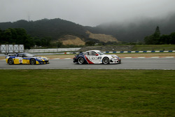 #99 Tech9 Motorsport Porsche 997 GT3 RSR: Leo Machitski, Sean Edwards, #19 PSI Experience Corvette C
