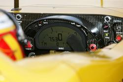 Tableau de bord de la Porsche RS Spyder Penske Motorsports