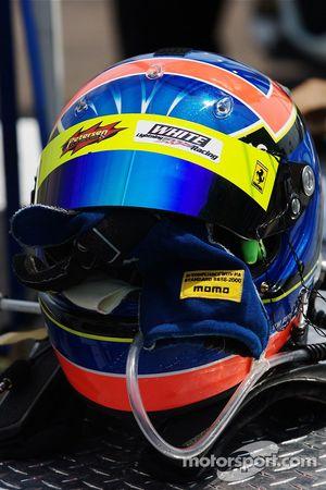Helmet of Tim Bergmeister