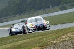 #99 Tech9 Motorsport Porsche 997 GT3 RSR: Leo Machitski, Sean Edwards