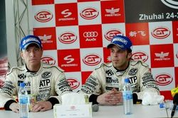 Conférence de presse: Anthony Kumpen et Bert Longin