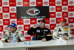 Conférence de presse: Christophe Bouchut et Stefan Mucke