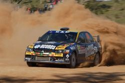 Fernando Peres and Jose Silva, Mitsubishi Lancer Evolution IX