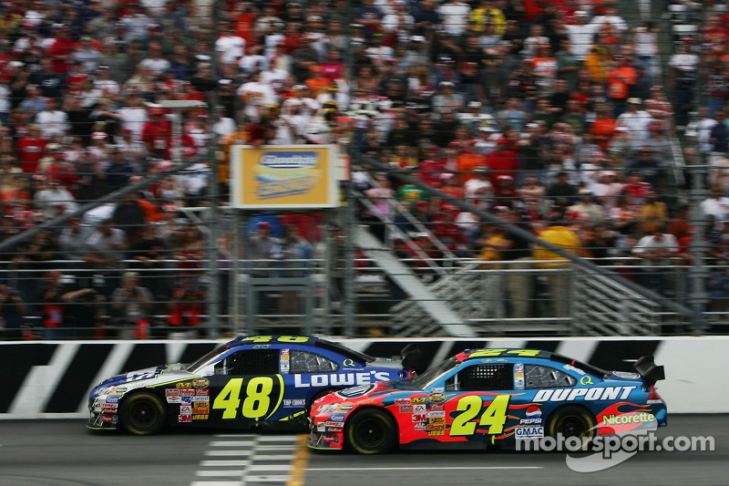 2007, Martinsville 1: Jimmie Johnson (Hendrick-Chevrolet)