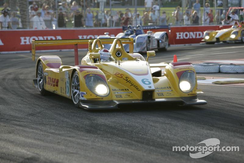 6 Penske Motorsports Porsche Rs Spyder Sascha Maassen Ryan Briscoe St Pete Photos Alms