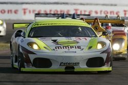 #31 Petersen White Lightning Ferrari 430 GT: Tim Bergmeister, Tomas Enge, Michael Petersen