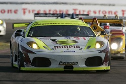 #31 Petersen White Lightning Ferrari 430 GT: Tim Bergmeister, Tomas Enge, Michael Petersen