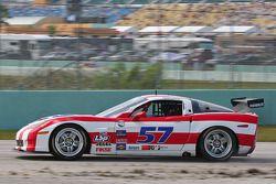 #57 Stevenson Motorsports Corvette: Dominic Cicero, Marc Bunting