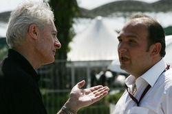 Daniele Audetto, Super Aguri F1 and Colin Kolles