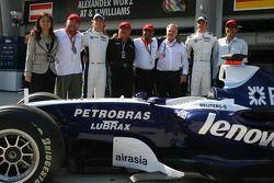 Williams F1 Team, announce Air Asia as a yeni partner