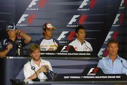 Нико Росберг, WilliamsF1 Team, Нельсон Пике-мл., Renault F1 Team, Такума Сато, Super Aguri F1, Ник Х