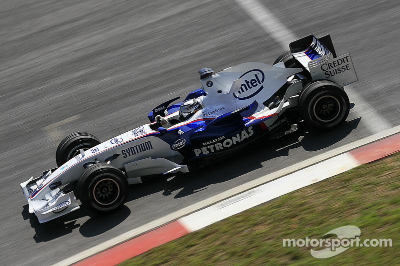 2007: Себастьян Феттель, BMW Sauber, тренировки
