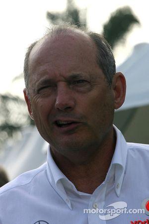 Ron Dennis, McLaren, Director del equipo y Presidente
