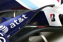 Williams F1 Team, FW29, ön kanat detay