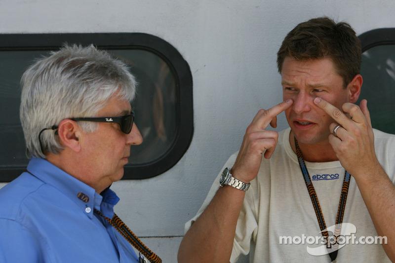 Herbie Blash, FIA Observer and Bernd Maylander, FIA F1 and GP2 safety car driver