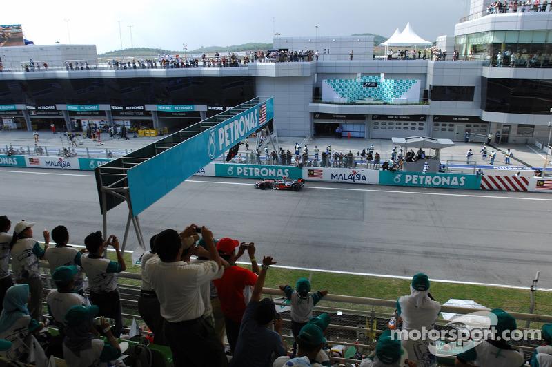 Circuito en el que ha ganado más veces: Sakhir, Sepang y Hockenheim, con 3 victorias