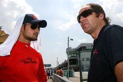 Vitantonio Liuzzi, Scuderia Toro Rosso, Gerhard Berger, Scuderia Toro Rosso, 50% Team Co Owner