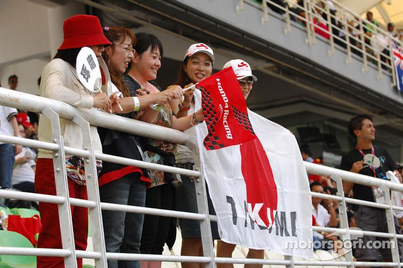 Fans de Takuma Sato
