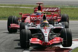 Lewis Hamilton y Felipe Massa