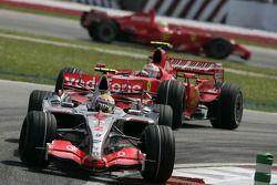 Lewis Hamilton y Kimi Raikkonen