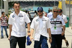 Robert Kubica y Nick Heidfeld, BMW Sauber F1 Team