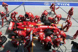 Parada de Felipe Massa, Scuderia Ferrari