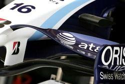 WilliamsF1 Team, FW29, ön kanat detay
