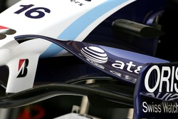 WilliamsF1 Team, FW29, ön kanat detay