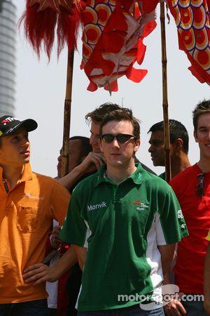 John O'Hara, pilote de A1 Equipe d'Irlande