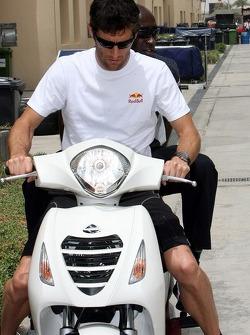 Mark Webber et son entraîneur personnel Roger Cleary