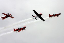 Welcome party padok: air show