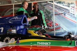 Alan van der Merwe, Driver of A1Team South Africa