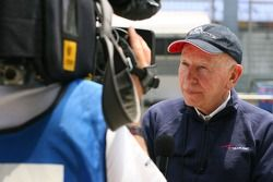 John Surtees, Team Manager of A1Team Great Britain