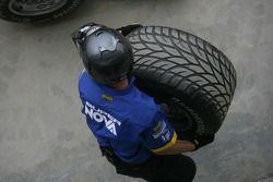 Super Nova International pit stop practice