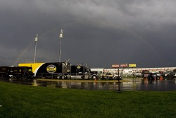 Rainbow over Texas Motor Speedway