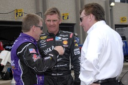 Jeff Burton, Clint Bowyer and Richard Childress