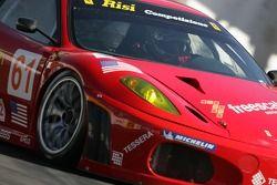 #61 Risi Competizione Ferrari 430 GT: Nic Jonsson, Anthony Lazzaro
