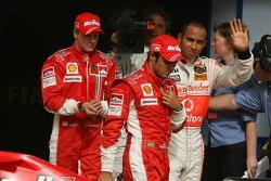 Pole: Kazanan Felipe Massa ve 2. Lewis Hamilton ve 3. Kimi Raikkonen