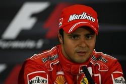 basın toplantısı: Pole: Kazanan Felipe Massa