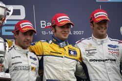 Luca Filippi (ITA, Super Nova International) 1st, Timo Glock (GER, iSport International) 2nd, Andrea