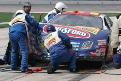 Work on Marcos Ambrose's car