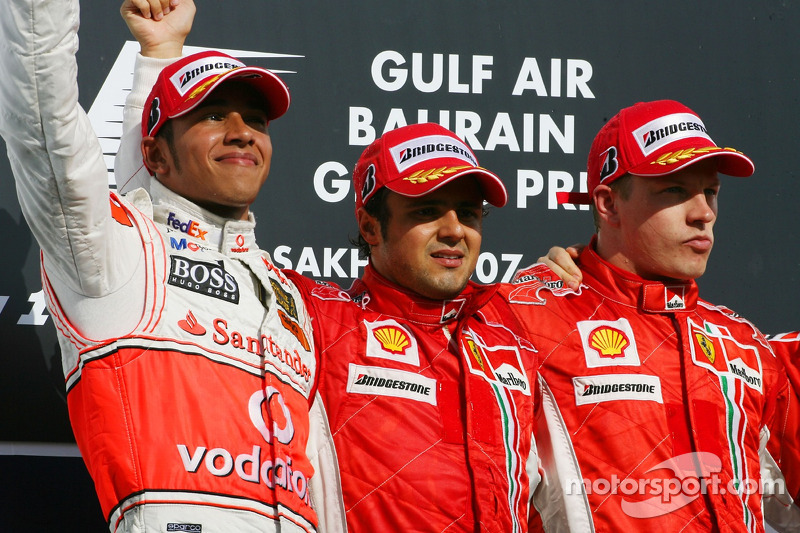 3- Gran Premio de Bahrein 2007 (2º), McLaren