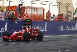 Kimi Raikkonen, Scuderia Ferrari, F2007, tercer lugar