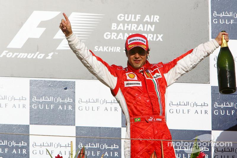Vitórias brasileiras: Duas das seis vitórias da Ferrari em Sakhir foram de Felipe Massa, em 2007 e 2008. Nos melhores anos de sua carreira, o brasileiro sempre teve bom retrospecto na pista de Sakhir.