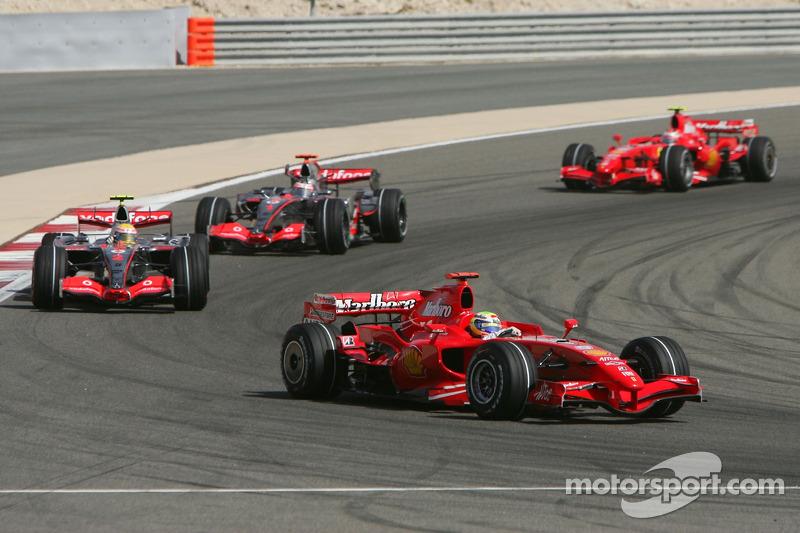 Felipe Massa, Scuderia Ferrari, F2007, Lewis Hamilton, McLaren Mercedes, MP4-22, Fernando Alonso, Mc