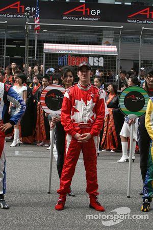Sean McIntosh, pilote de A1 Equipe du Canada