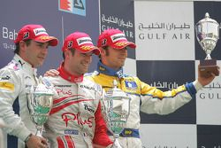 Nicolas Lapierre (FRA, DAMS) 1st, Timo Glock (GER, iSport International) 2nd, Luca Filippi (ITA, Super Nova International) 3rd